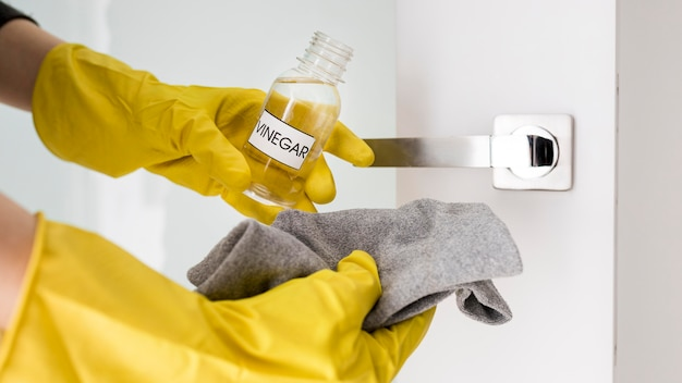 Protection gloves and eco cleaning house products
