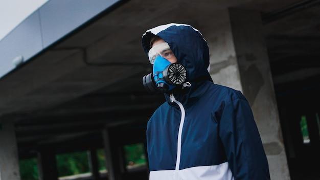 有毒ガス用の保護呼吸器ハーフマスク