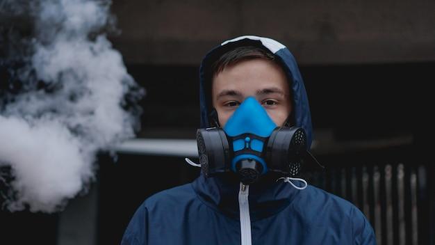Защитная полумаска респиратора от токсичных газов