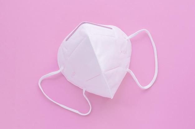 口と鼻を覆う保護医療用フェイスフィルターマスク。