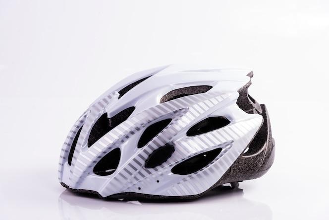 casco protettivo bianco per bambini