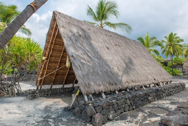 Pu'uhonua o honaunau национальный исторический парк