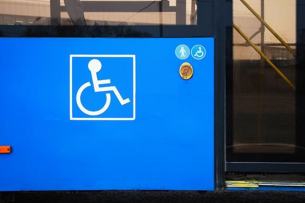 모든 승객을 위한 대중 교통, 시내 버스에 장애인 기호