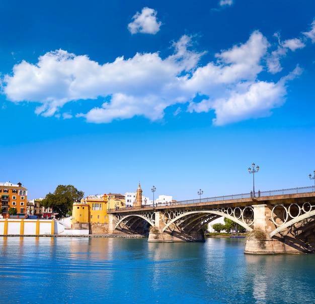 Puente isabel ii bridge in triana seville andalusia