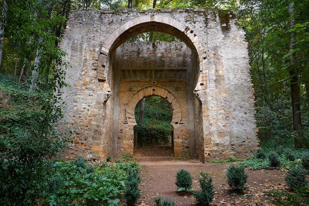 Puerta de birrambla door arch in alhambra