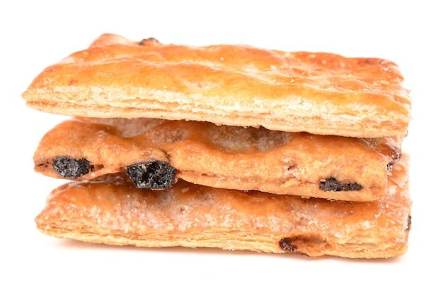 レーズン入りパフクッキー