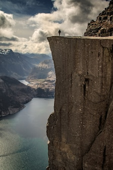 Pulpit rock norway preikestolen