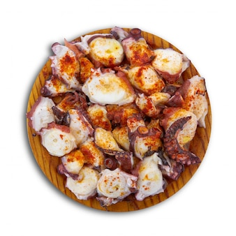 Pulpo a la gallega octopus