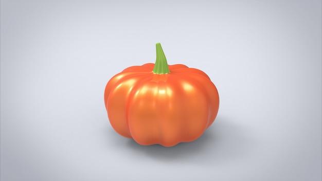 Pumpkin 3d modelling