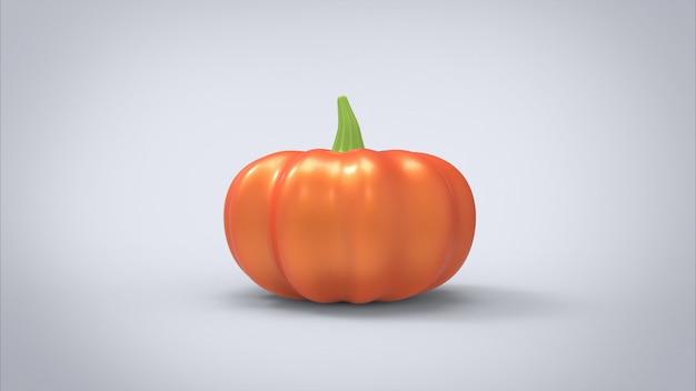 Pumpkin 3d rendering