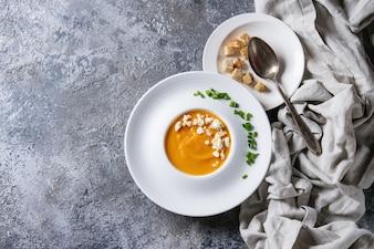 パンプキンキャロットスープ