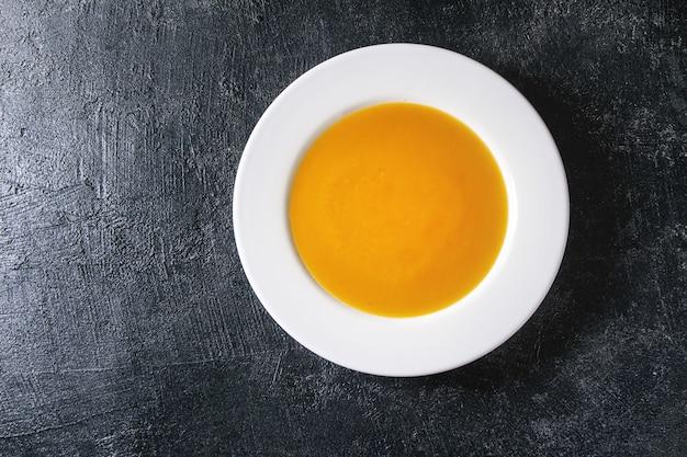 Pumpkin or carrot soup