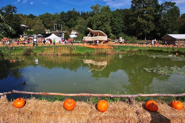 Pumpkin festival in ludwigsburg, germany