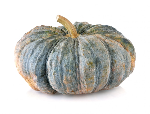 Pumpkin isolated on the white