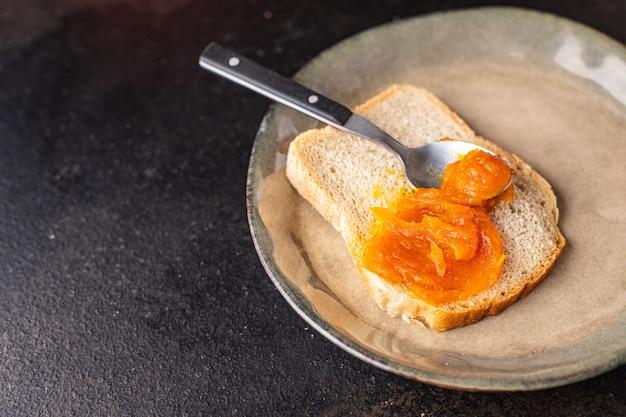 カボチャジャム甘いデザート秋収穫缶詰新鮮な部分すぐに食べられる食事スナック