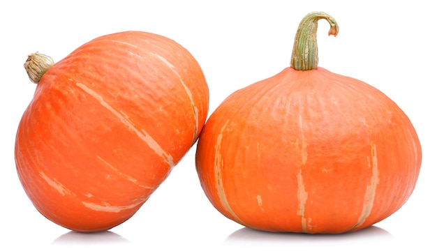 Pumpkin japanese isolated on white