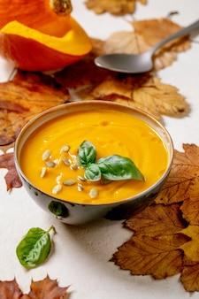Тыквенный или морковный суп