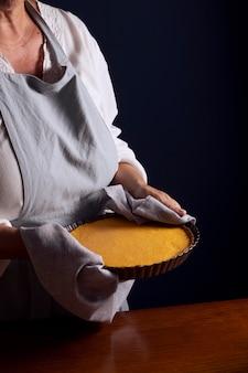 Pumpkin pie making assortment
