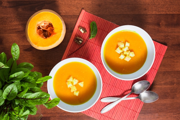 Pumpking soup