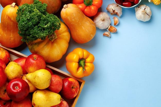 Состав тыквы, яблок и болгарского перца
