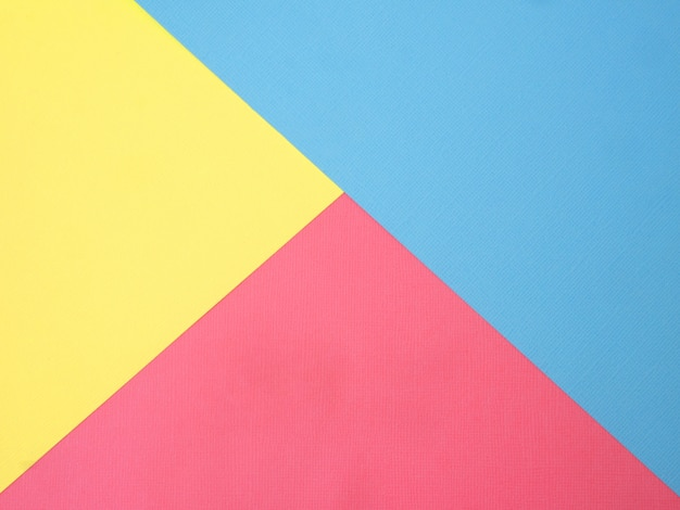 Punchy pastel paper abstract background