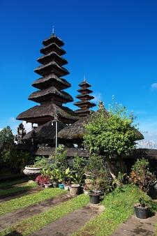 Pura besakih temple on bali island, indonesia