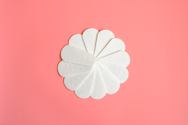 純粋な空の女性の使い捨ての毎日の月経生理用ナプキンまたはナプキン