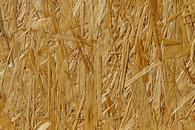 Pure large textural surface of a plate plywood of osb
