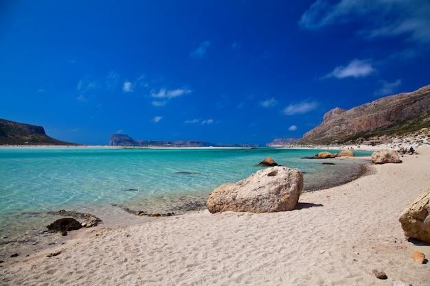 バロスラグーンの純粋な海