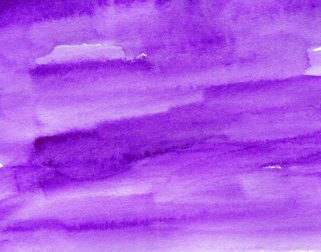 テクスチャードペーパーの紫色の抽象的な水彩画の背景