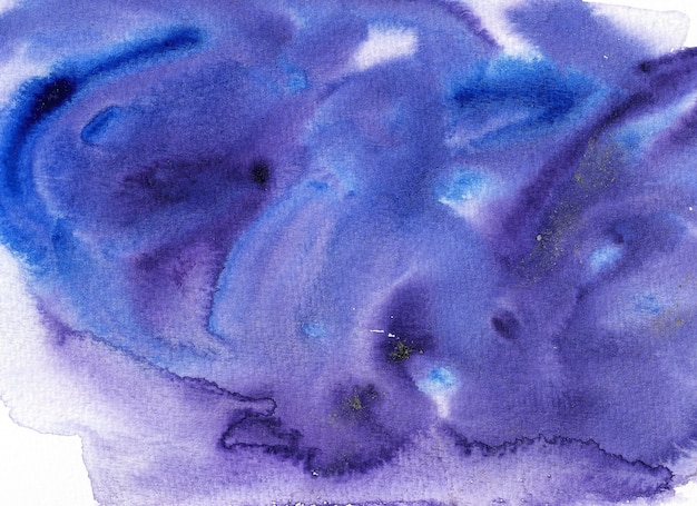 Purple abstract watercolor background.