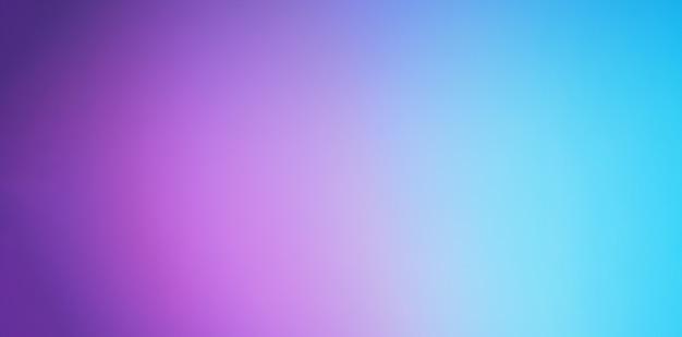 紫と青の色の背景。抽象的なぼやけたグラデーションの背景。バナーテンプレート