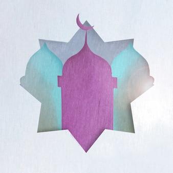Фиолетовые и бирюзовые башни
