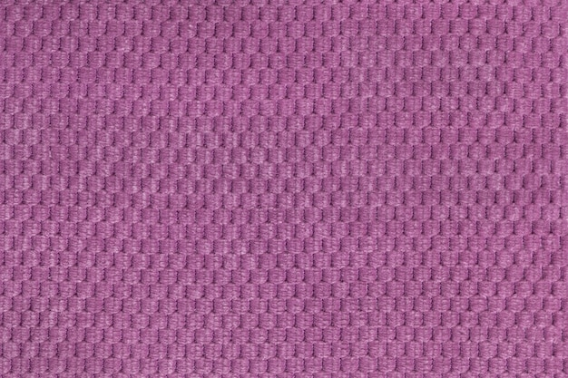 Purple background from soft fleecy fabric closeup