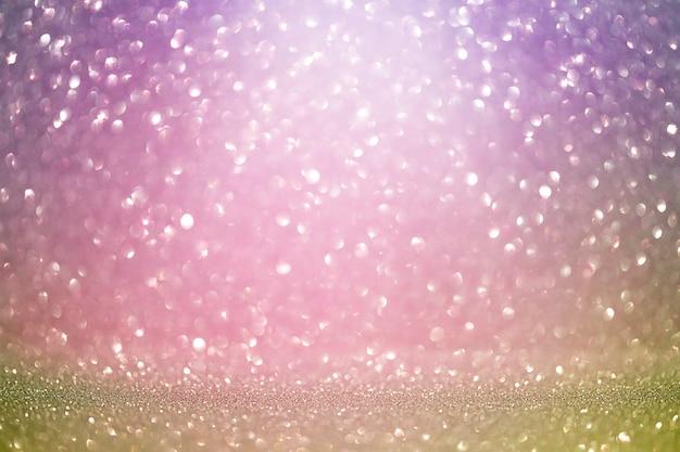 焦点ぼけボケと紫色の背景