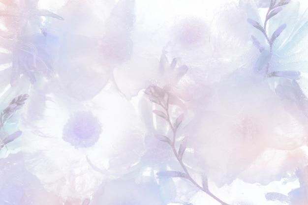 Фиолетовый цветущий анемон цветочный фон