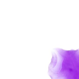 白い紙に紫の汚れ