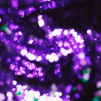 Purple bokeh light background