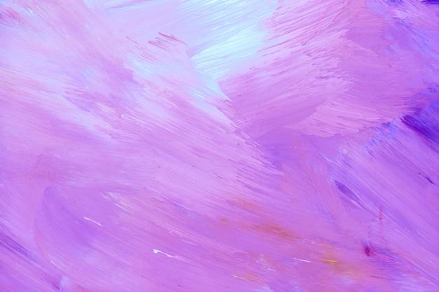 紫のブラシストロークテクスチャ