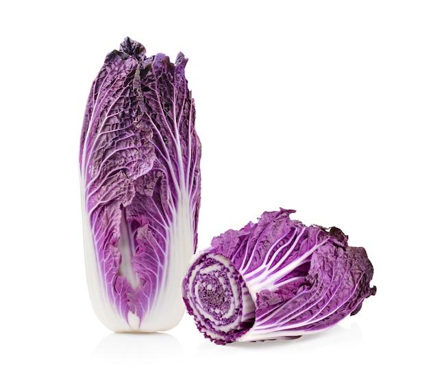 白菜に分離された紫白菜