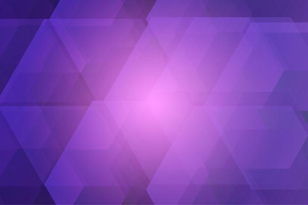 ビジネスやwebバナーの紫の色のモダンなデザインの幾何学的要素ベクトルの抽象的な背景