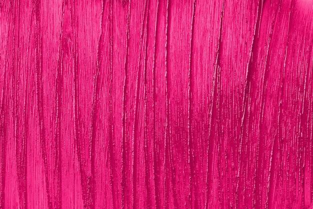 Purple cosmetics smear closeup
