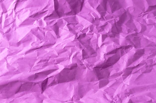 Purple crumpled paper