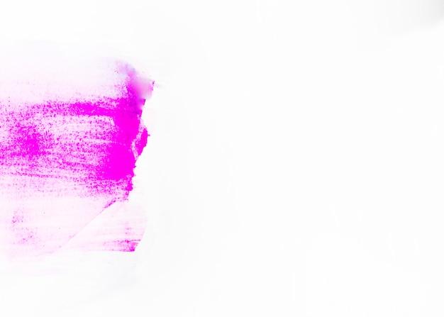 紙に紫のドロー