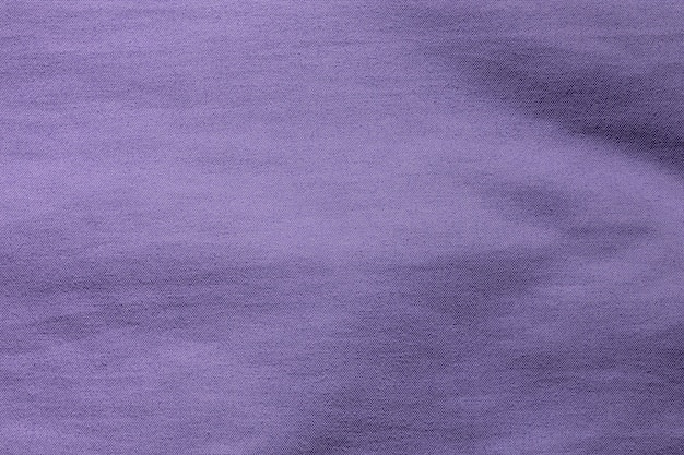 Purple fabric cloth polyester texture and textile background.