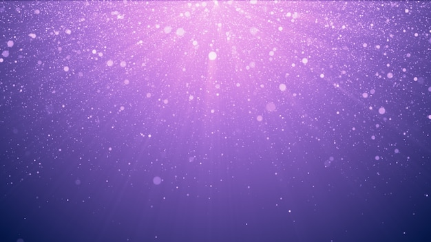 Purple glitter background with sparkles
