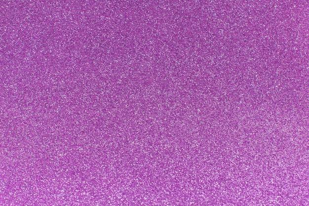 Purple glitter for texture