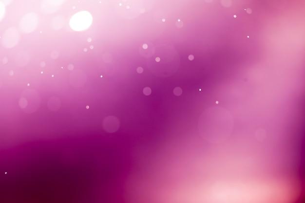 Purple lights bokeh background.