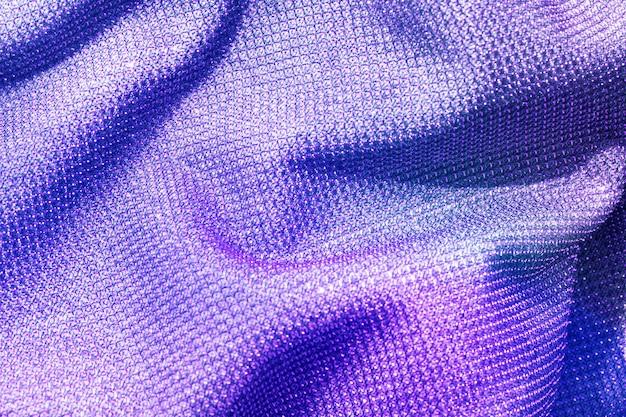 Фиолетовый льняной текстурированный фон