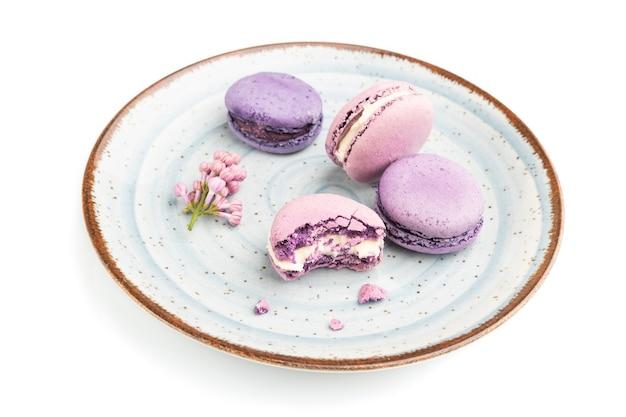Фиолетовые макароны или торты с макаронами